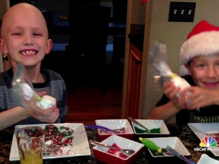 Boy Sells Hot Cocoa to Benefit Hospital That Saved Friend's Life
