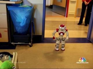 Robot Helps Children Through Difficult Days in Hospital