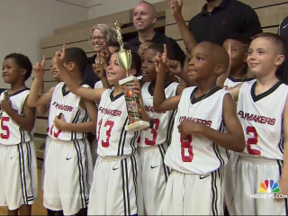 8-Year-Old Basketball Star Zeke Ortiz Says Being Deaf Has No Limits