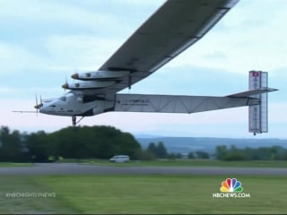 Solar-Powered Plane's Historic Flight Is Just Start Of Mission