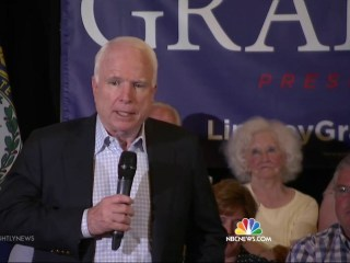 McCain Hits Campaign Trail For Lindsey Graham in New Hampshire