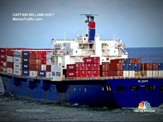 Coast Guard Spots Debris in Search for Missing Ship
