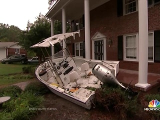 South Carolina Flooding: If This Boat Could Tell a Story