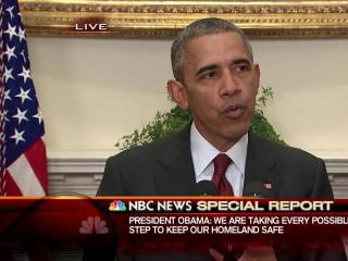 Obama: No Specific Threat to U.S. as Holidays Near