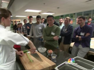 See Why These Medical Students Are Taking Classes in the Kitchen