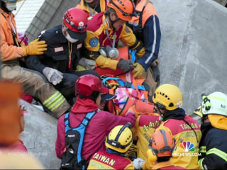 Baby Among Survivors Pulled From Rubble of Deadly Taiwan Quake