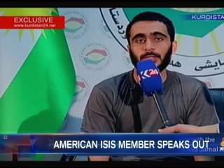Alleged U.S. ISIS Fighter Speaks Out After Being Captured