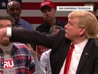 SNL Highlights: 'Trump' Punches Bee Off Voter's Face