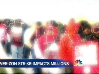 36,000 Verizon Workers Go On Strike After Failed Negotiations