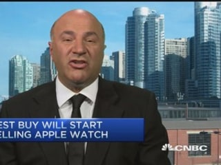 O'Leary anticipates big surge in Apple Watch sales