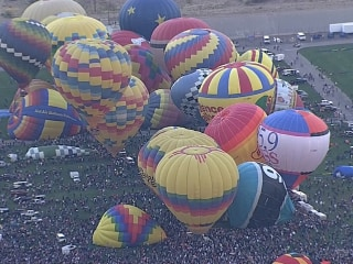 Balloon Festival Takes Flight