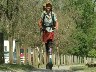 Hiker Walks 20 Miles A Day On One Leg