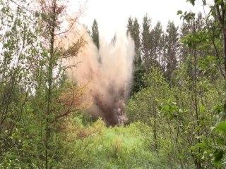 Government Blasts Away Beaver Dams