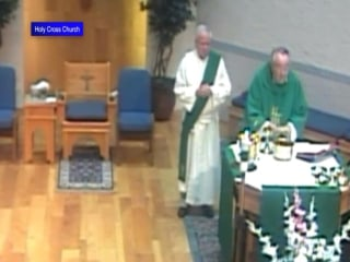 Camera Captures Church Blast