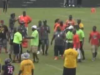 Florida Man Storms Field to Punch Referee in the Face