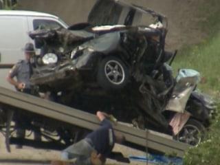 Cops: Four Suspects Killed In Crash Fleeing Burglary
