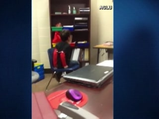 Lawsuit Filed After Video Shows Children Shackled