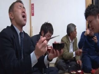 200-Year-Old Tradition Encourages Japanese Men to 'Pig Out'