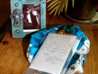 Graveside Balloons Return to Family's Home