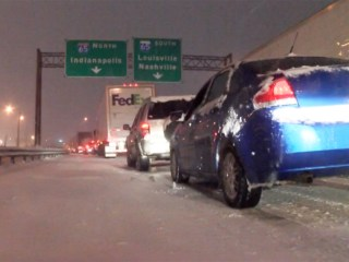Interstate Becomes Parking Lot in Kentucky