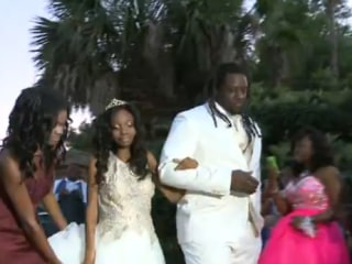 NFL Player Makes Prom Night Special for Cancer Patient