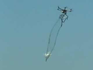 Japan Tests Drone-Catching Drone
