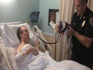 Officers Reunite Quadriplegic Man with Lost Dog