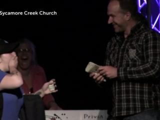 Ohio Church Tips Pizza Driver $1000