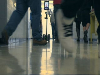 Robot Helps Student Stay In Class