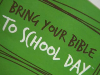 District Promotes 'Bring Your to School Bible' Day