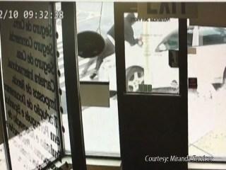 Security Camera Captures Hit-And-Run