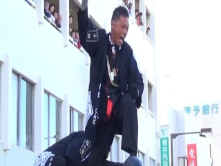 Shrines Clash On Streets Of Japan