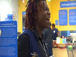 Walmart Cashier Becoming a Viral Singing Sensation