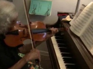Music Teacher Still Hits the Right Notes at 100