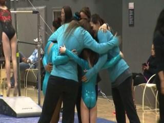 Tornado Can't Stop Gymnastics Team