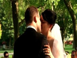 Couple Weds Among the Dead