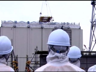 Removal Starts of Fukushima Nuke Plant's Protective Cover