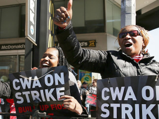 The Verizon Strike Is the Largest U.S. Work Stoppage Since 2011