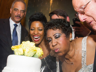 Aretha Franklin Puts On Star-Studded Birthday