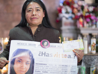 Pope's Juárez Mass a Blessing for Victims of Violence