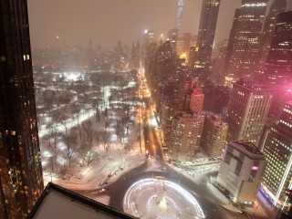 Time-Lapse Captures Blizzard's Bluster in NYC