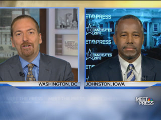 Ben Carson: Because of Trump, Less Focus On 'My Lack of Political Experience'