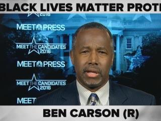 Ben Carson ComPRESSed: Donald Trump, Immigration and #BlackLivesMatter