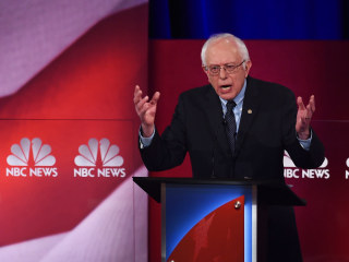 The Maestro? Check Out Bernie's Symphonic Debate Performance