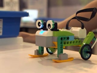 Lego Toy Lets Children Program Robots