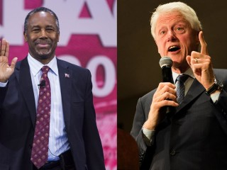 How Carson and Clinton Rallies Compare