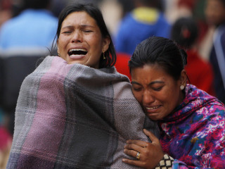 Earthquake Survivors in Nepal in Dire Need of Aid