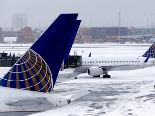 East Coast Airports Sputter Back to Life After Storm