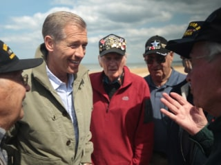 Brian Williams Shares Why He Traveled to Normandy for D-Day