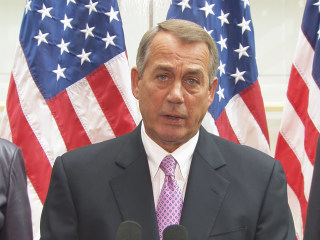 Boehner on DHS Funding: 'I'm waiting for the Senate to Act'